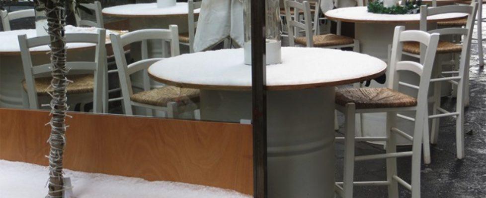 tavoli sul corso