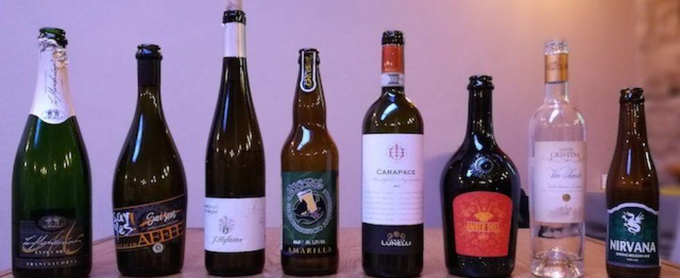 vini e birre utilizzate in abbinamento